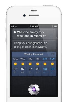 iPhone 4S SIRI comandi vocali e molto di più