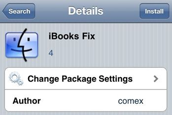 iBooks Fix