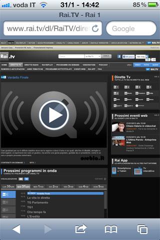 RAI-su-iPhone-con-Safari-screenshoot