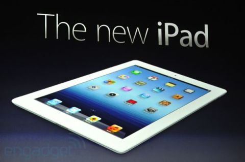 iPad 3 demo