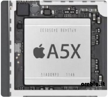 iPad 3: il processore A5X