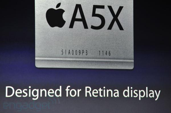 iPad 3 processore A5X