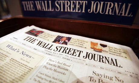 wall street journal logo notizia