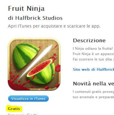 fruit ninja gratis