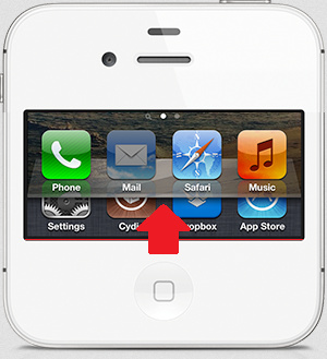 Swipe to multitasking with zephyr