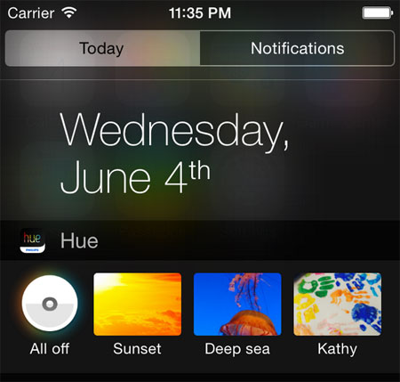 ios-8-widget-philips-esempio