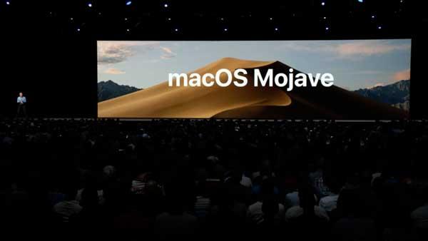 Apple svela macOS 10.14 Mojave : WWDC 2018