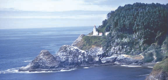Heceta Head Lighthouse Florence Oregon