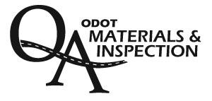 Oregon Department of Transportation : Inspector