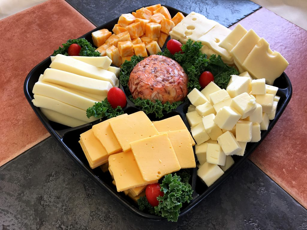 Cheese  Crackers Tray  Meat  Cheese Trays  Oregon Dairy