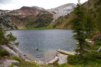 Fall Mountain Lake Wallpaper Ice Lake Hike Hiking In Portland Oregon And Washington