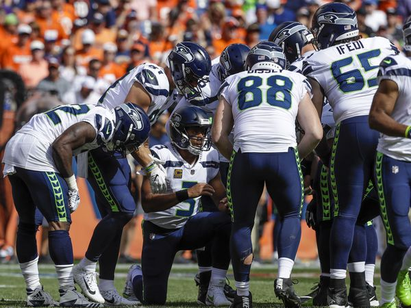 The Seattle Seahawks take on the Denver Broncos Thursday night in their preseason opener. (AP Photo/Jack Dempsey)