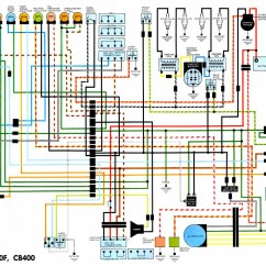 Wiring Diagram For Motorcycle 2006 Honda Civic Ignition Rd 350 Diagramscb400 And Cb350 Four Jpg