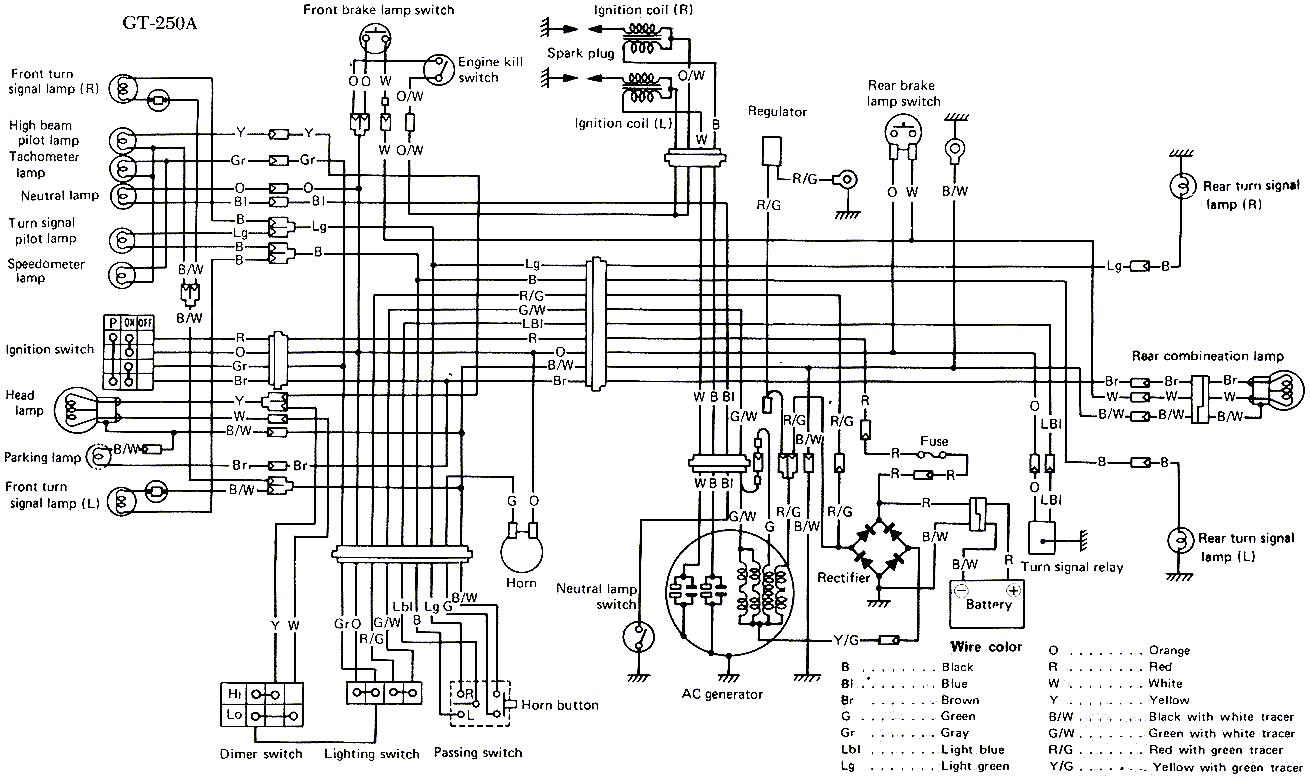 Honda 250 Dirt Bike Wiring Diagrams, Honda, Free Engine