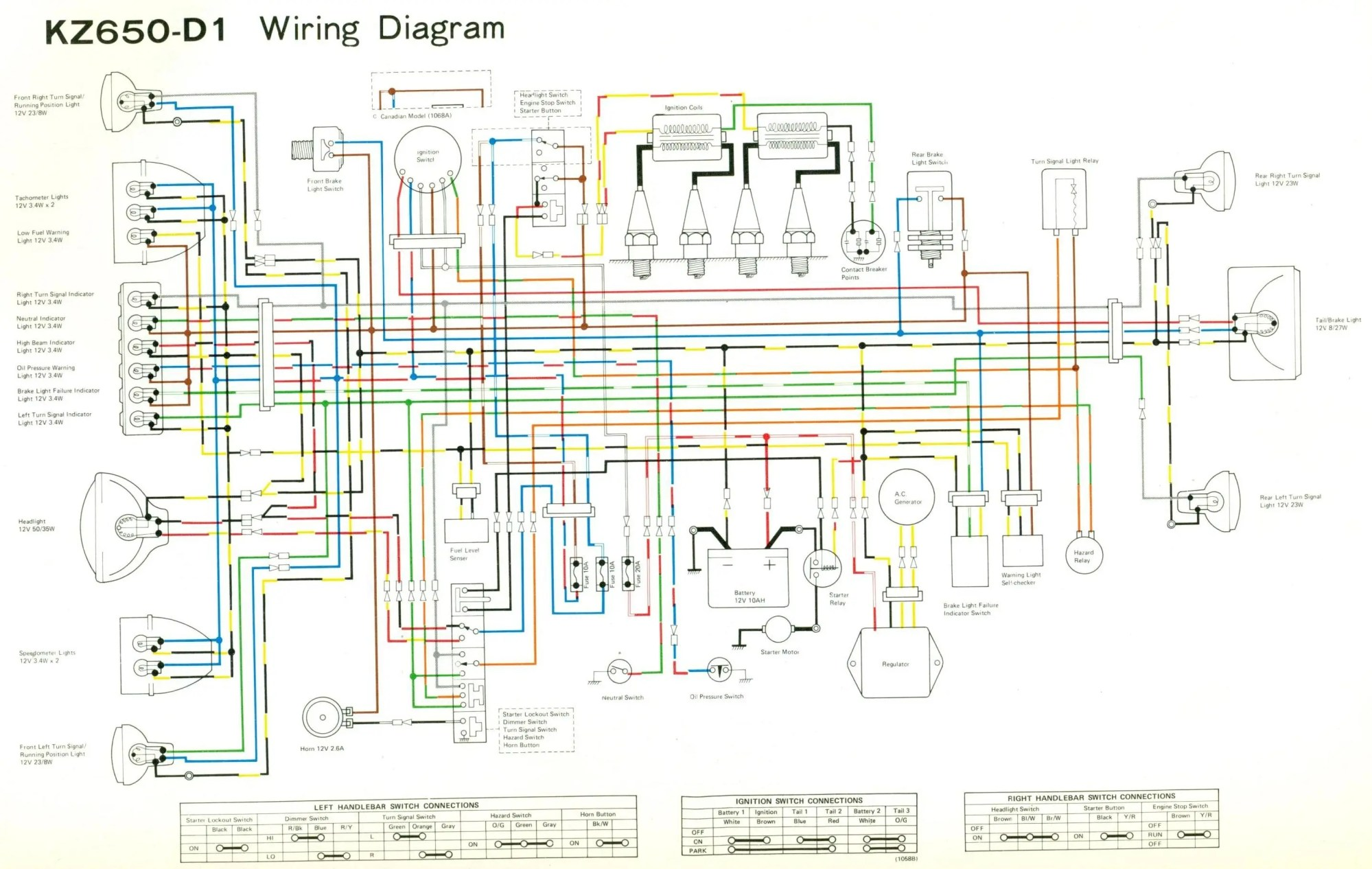 hight resolution of  honda gl500 wiring diagram kz650 d jpg