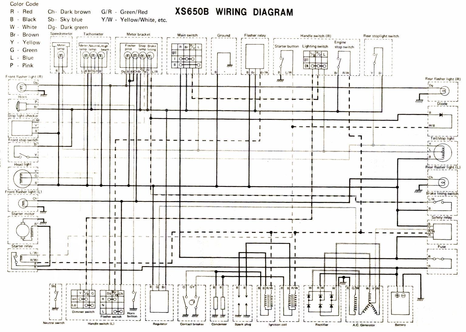 hight resolution of wiring diagram 1981 yamaha xs650 wiring schematic data rh 27 american football ausruestung de 1977 triumph bonneville 1979 yamaha xs650