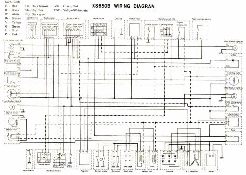 small resolution of wiring diagram 1981 yamaha xs650 wiring schematic data rh 27 american football ausruestung de 1977 triumph bonneville 1979 yamaha xs650