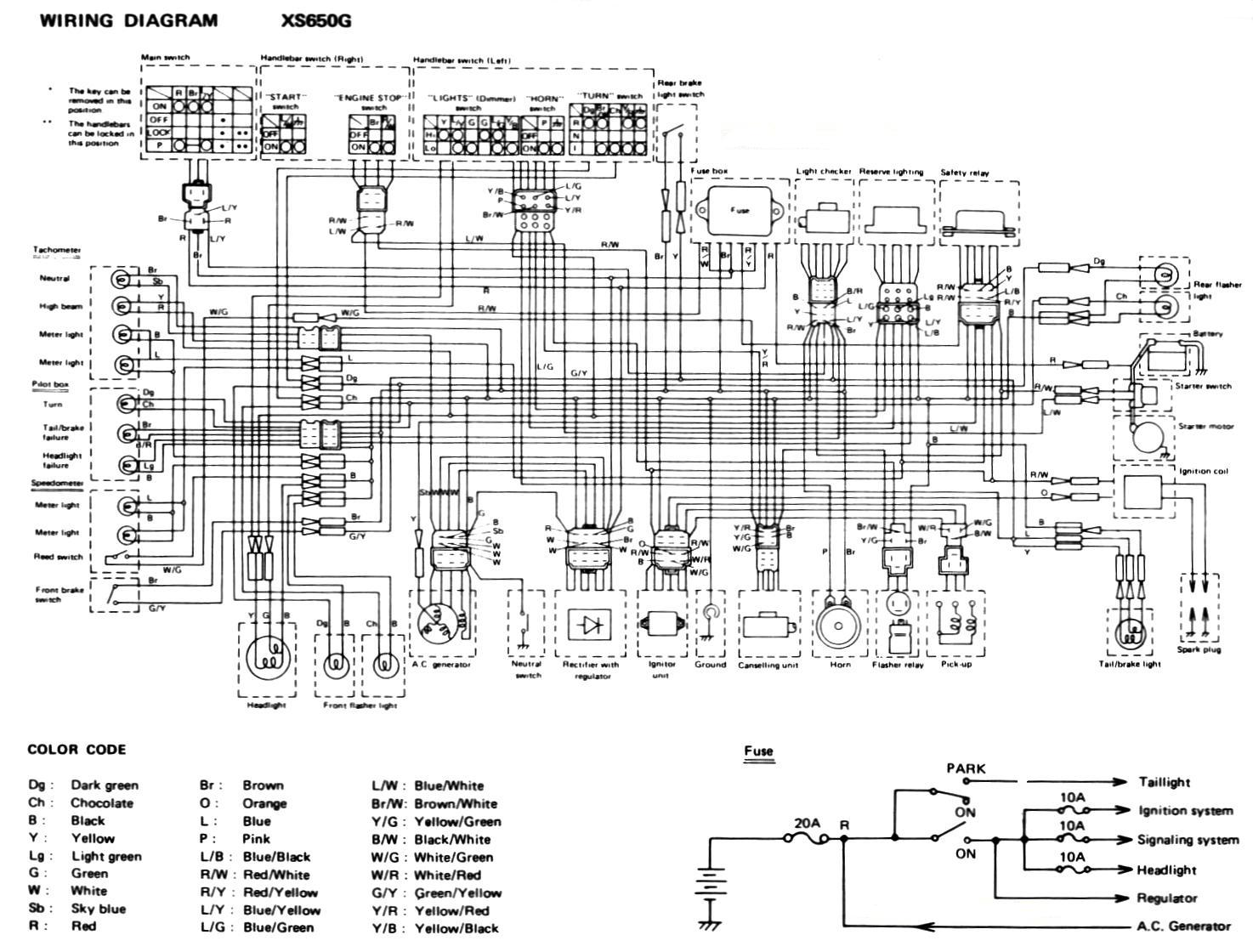 hight resolution of 87 honda cx500 wiring diagram