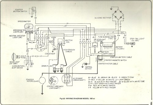 small resolution of 1978 honda ct90 wiring diagram