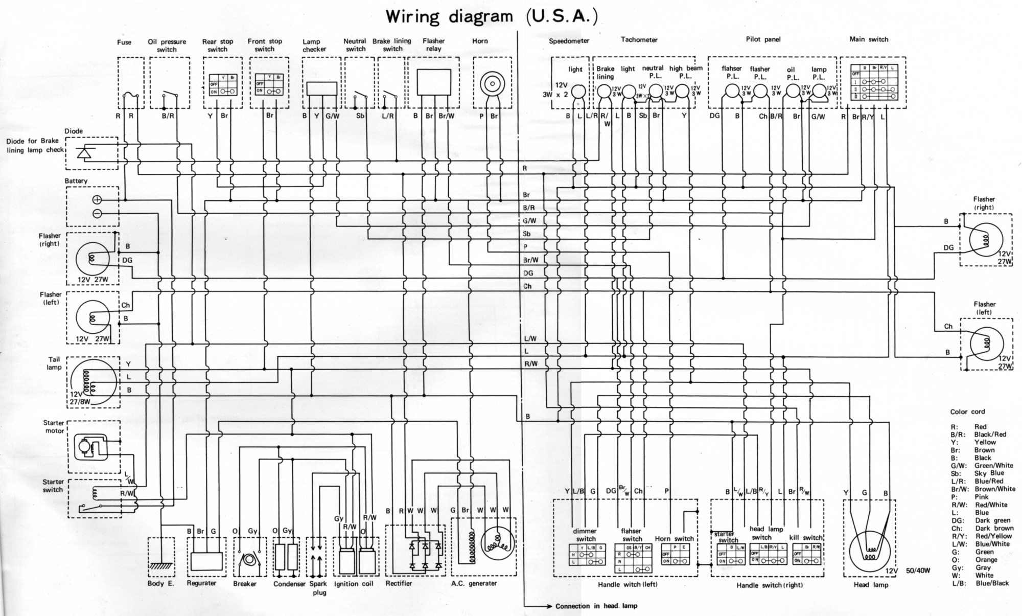 hight resolution of xt500 1978 wiring diagram wiring diagram yer xt500 1978 wiring diagram