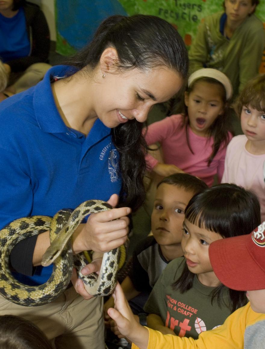 Education Snakes Oregon Zoo