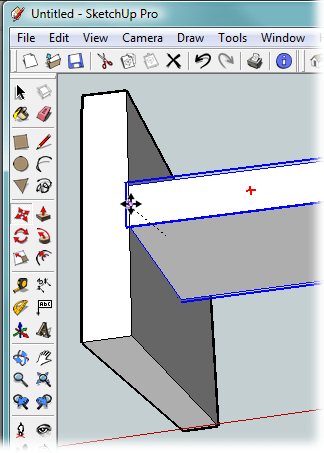 Sketchup Snap To Center