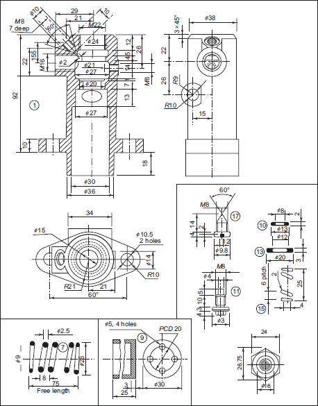 Machine Drawing Basic Question