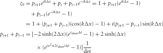 APPENDIX C: Expanding the von Neumann Stability Mode for the Discretized Black-Scholes Equation - The Mathematics of Derivatives: Tools for ...
