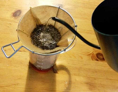 コーヒー淹れ方