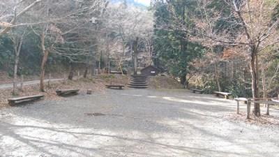 日影沢キャンプ場キャンプサイト