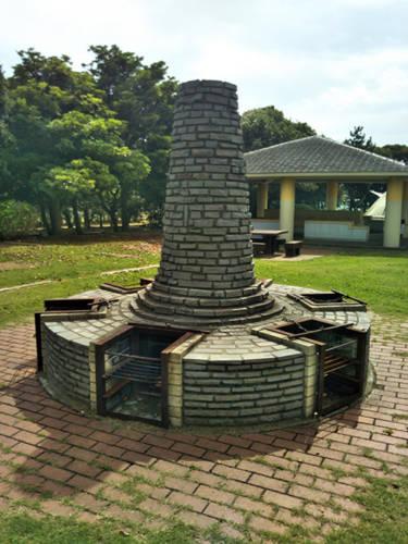 若洲公園キャンプ場炉