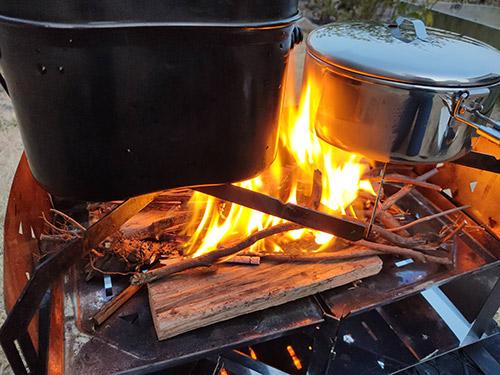 MSRストアウェイポット炊飯