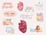 Stickers para computadora en vinil