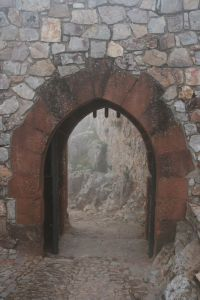 Entrance to the Keep at Calatrava la Nueva