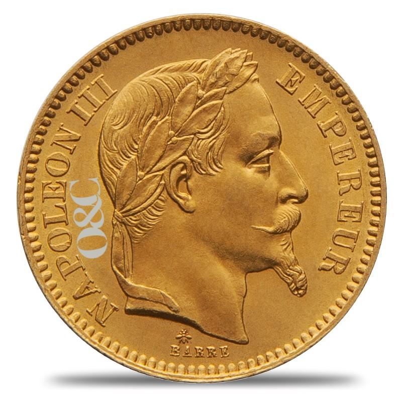 Pice De 20 Francs Napolon III Ou Gnie Avec Or Amp Change
