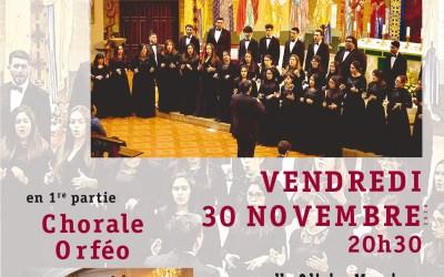 Concert chorale Espiritu Santo