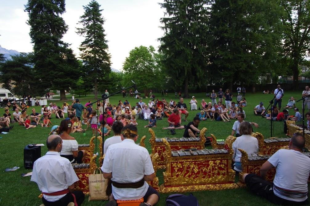 Le Gamelan Sekar Sendat fête de la musique Voiron 21 juin 2019
