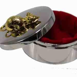 boîte dents métal gravable