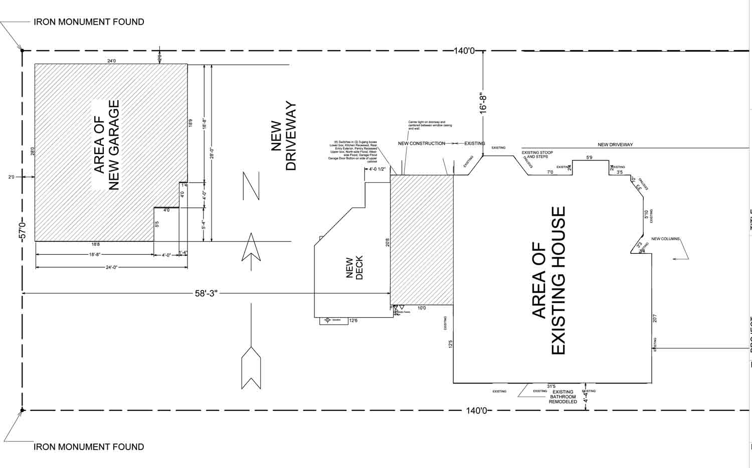 hight resolution of electrical plan for garage