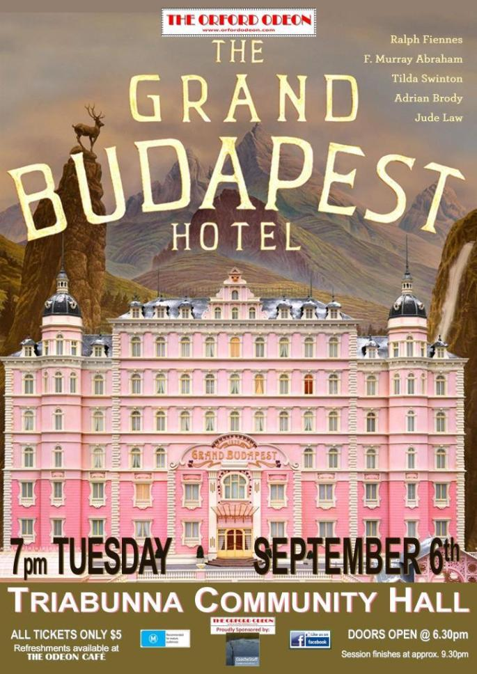 Image result for The Grand Budapest Hotel (2014) poster