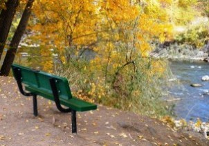 Durango park bench sm