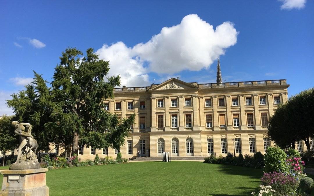 Travaux de rénovation de l'Hôtel de Ville de Bordeaux