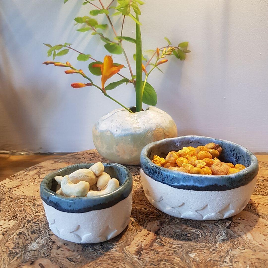 ceramic snack pot