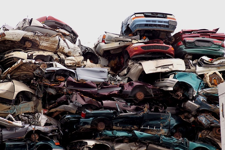 Recycle old cars