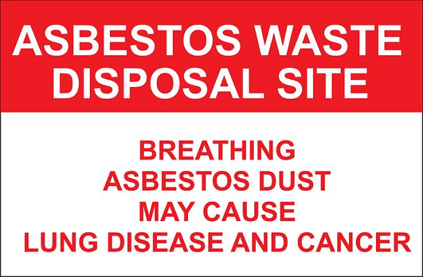avoid asbestos for good air quality