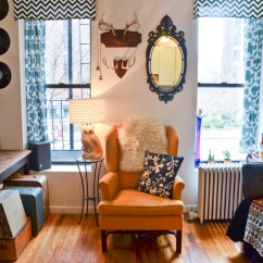 Living Room Side Table Decoration Ideas Full Length Mirror In 5 Tips For Decorating On A Budget Of $50 (or Less)