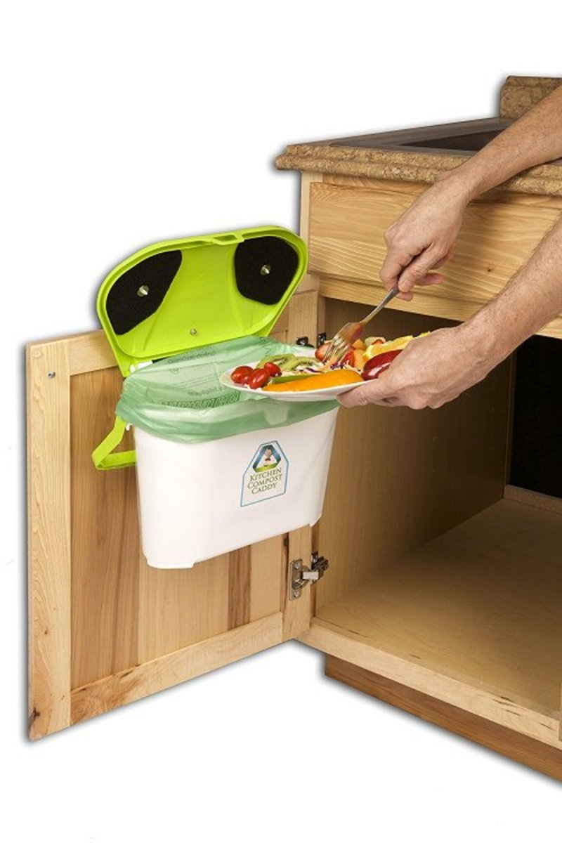 5 Kitchen Compost Bin Options No More Excuses