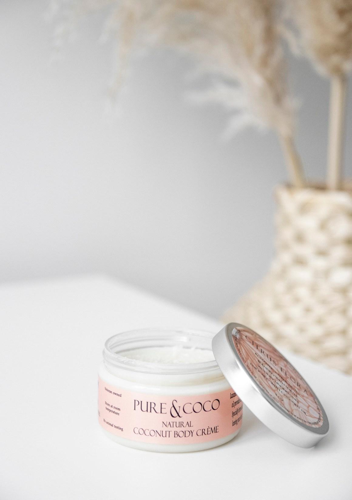 Pure and Coco Natural Coconut Body Cream