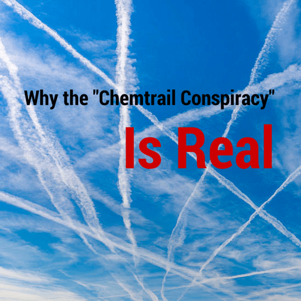 """chemtrail Conspiracy"" Real"
