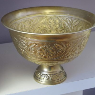 Gold Footed Bowl